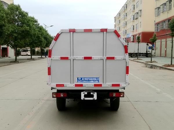 长安密封自卸式垃圾车图片
