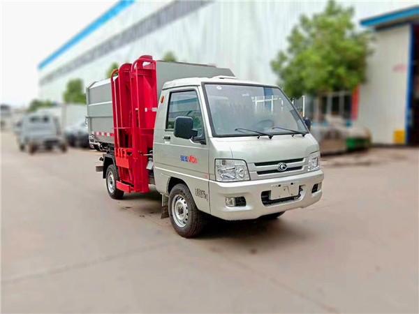 福田驭菱挂桶垃圾车(国五)