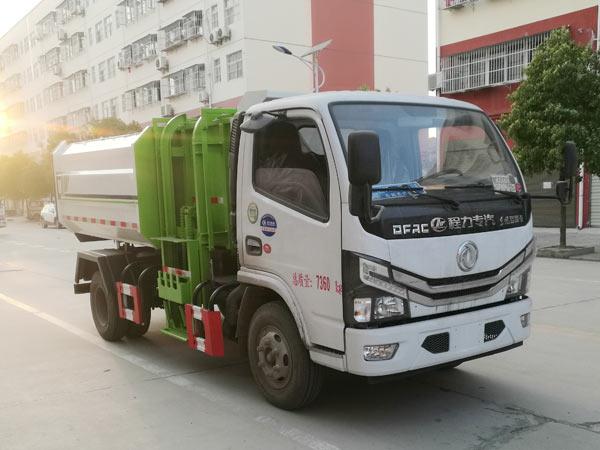 东风凯普特挂桶式垃圾车(6方)