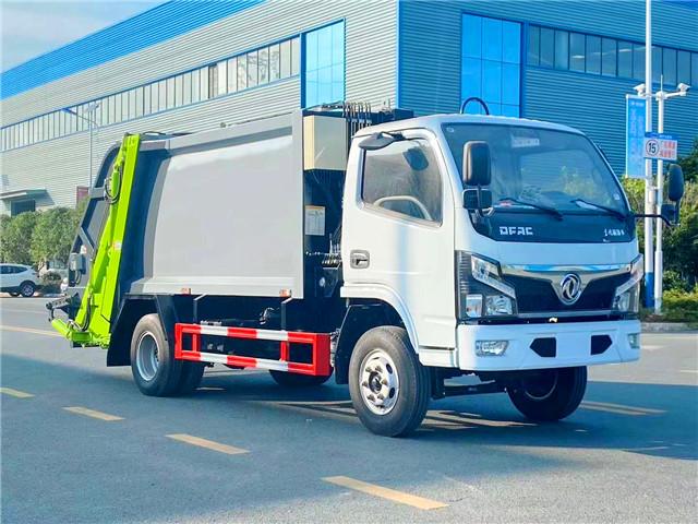 东风福瑞卡压缩式垃圾车(国六)
