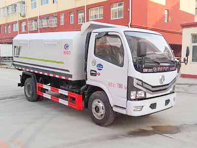 东风小多利卡密封式垃圾车(7方)