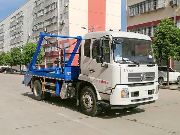 东风天锦摆臂式垃圾车(8方)