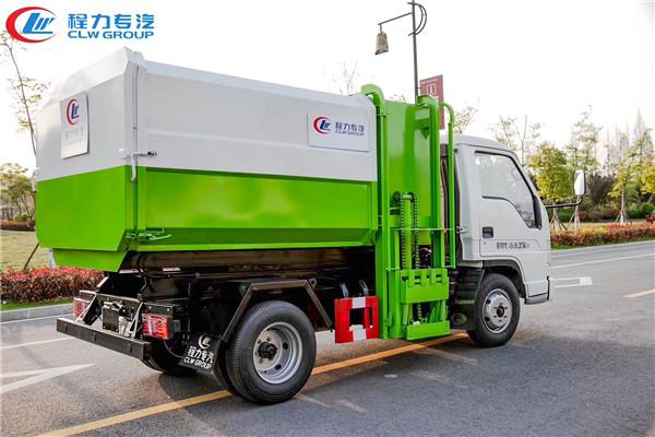 福田5方挂桶垃圾车