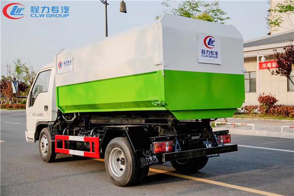福田5方挂桶式垃圾车
