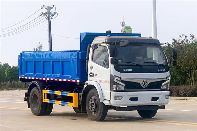东风福瑞卡4.35米自卸式垃圾车