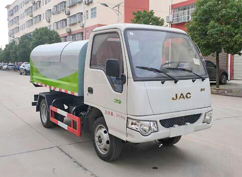 江淮康铃X1密封自卸式垃圾车(3方)